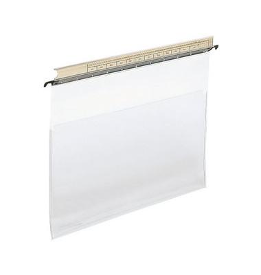 Hängeklarsichttasche oben offen glasklar 0,2mm Weichfolie 19380000