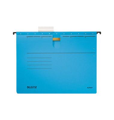 Hängehefter A4 ALPHA 250g Karton blau kaufmännische Heftung 19840035