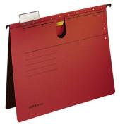 Hängehefter A4 ALPHA 250g Karton rot kaufmännische Heftung 19840025