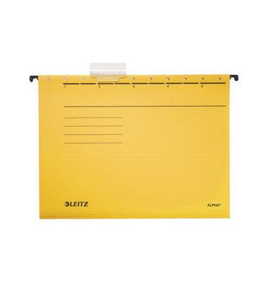 Hängemappe A4 ALPHA gelb 250g Karton 19850015