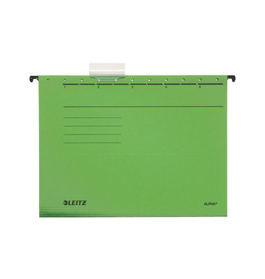 Hängemappe A4 ALPHA grün 250g Karton 19850055