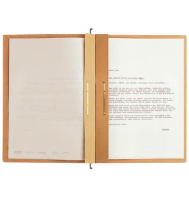 Hängehefter A4 ALPHA braun kaufmännische Heftung / Amtsheftung 19870000