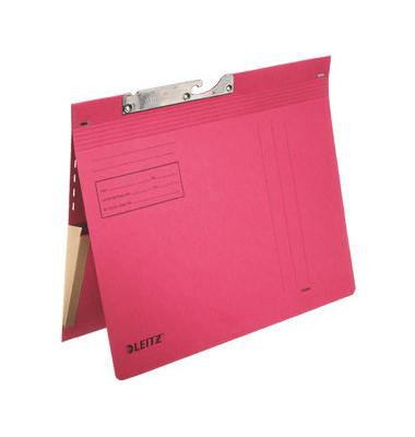 Pendelhefter 2011 A4 320g Karton rot kaufmännische Heftung mit Tasche