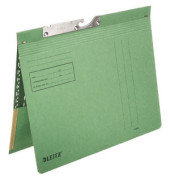 Pendelhefter A4 250g Manilakarton grün mit Tasche kaufmännische Heftung