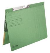 Pendelhefter 2012 A4 250g Karton grün kaufmännische Heftung mit Tasche