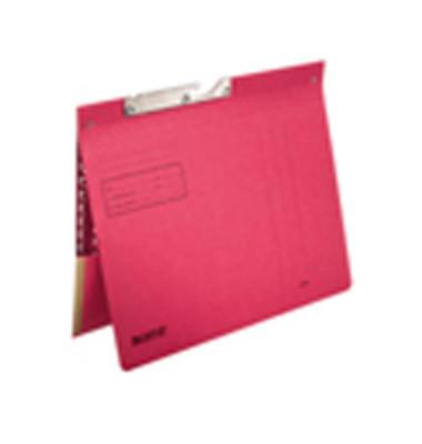 Pendelhefter 2012 A4 250g Karton rot kaufmännische Heftung mit Tasche