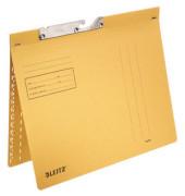 Pendelhefter 2014 A4 250g Karton gelb kaufmännische Heftung