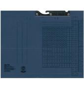 Pendelmappe 2015 A4 320g Karton blau für lose Blätter
