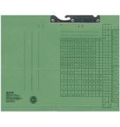 Pendelmappe 2015 A4 320g Karton grün für lose Blätter