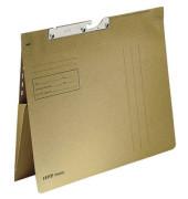 Pendelhefter 2111 A4 250g Karton natronbraun kaufmännische Heftung mit Dehntasche