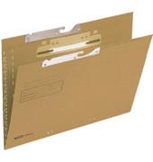 Pendelmappe 2115 A4 250g Karton natronbraun für lose Blätter