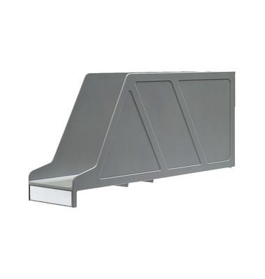 Stehsammler 2421-00-85 OrgaClass 97x336x156mm A4-quer Polystyrol grau