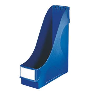 Stehsammler 98 x 250 x 318mm A4 Füllbreite 92mm Polystyrol blau
