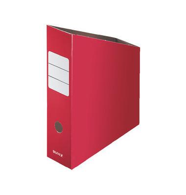 Stehsammler, A4, Füllbreite: 76mm, 80x245x320mm, rot