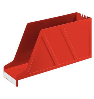 Stehsammler 2427-00-85 Standard 97x335x178mm A4-quer Polystyrol rot