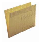 Einstellmappen 2430 A4 230g Recyclingkarton chamois