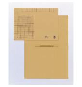 Einstellhefter 2440 A4 250g Recyclingkarton chamois kaufmännische Heftung