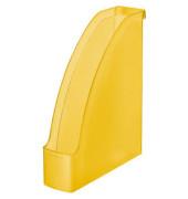 Stehsammler 2476-00-10 Plus 78x278x300mm A4 Polystyrol gelb-transparent