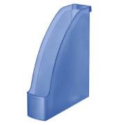 Stehsammler 2476-00-34 Plus 78x278x300mm A4 Polystyrol blau-transparent