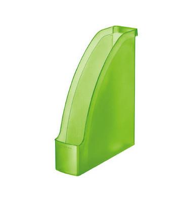 Stehsammler 2476-00-56 Plus 78x278x300mm A4 Polystyrol grün-transparent