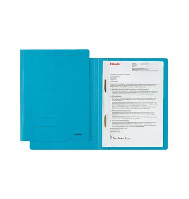 Schnellhefter Fresh 3003 A4 blau 250g Karton kaufmännische Heftung / Amtsheftung bis 250 Blatt