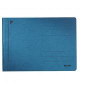 Schnellhefter Rapid 3006 A5-quer blau 250g Karton kaufmännische Heftung / Amtsheftung