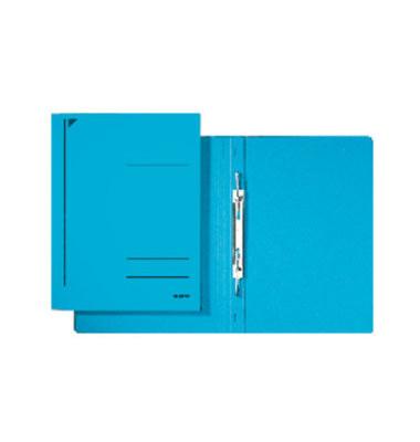 Spiral-Schnellhefter 3040 A4 blau 320g Karton kaufmännische Heftung bis 250 Blatt