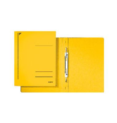 Spiral-Schnellhefter 3040 A4 gelb 320g Karton kaufmännische Heftung bis 250 Blatt