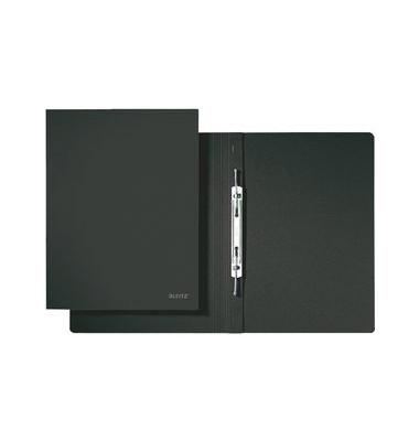 Spiral-Schnellhefter 3040 A4 schwarz 320g Karton kaufmännische Heftung bis 250 Blatt