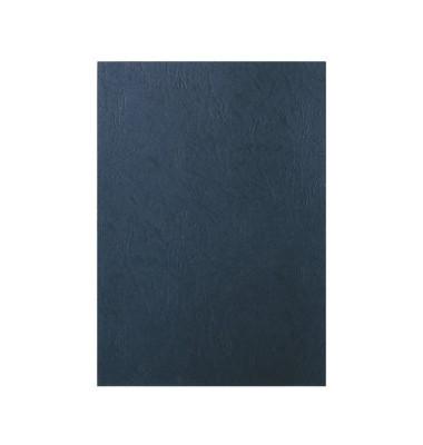 Umschlagkarton Lederoptik 33666 A4 Karton 240 g/m² schwarz Lederstruktur 100 Stück