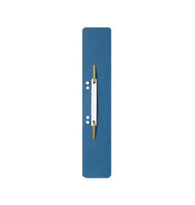 Heftstreifen lang 3700-00-35, 60x305mm, extra lang, geöst, RC-Karton mit Kunststoffdeckleiste, blau, 25 Stück