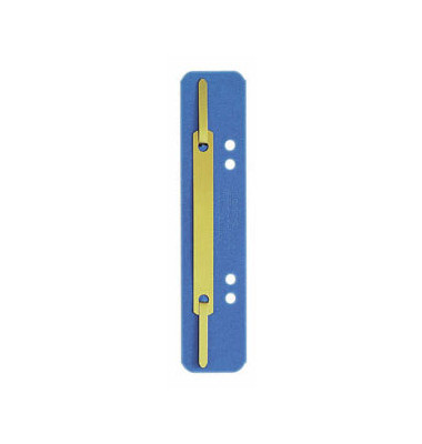 Heftstreifen 3701 kurz RC-Karton blau 35x138mm