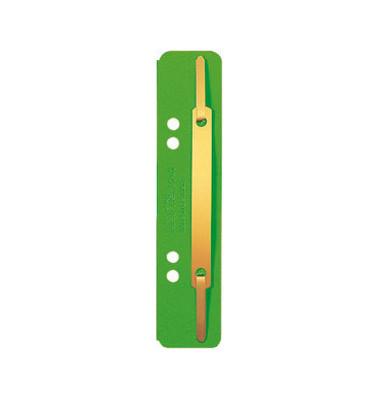 Heftstreifen 3701 kurz RC-Karton grün 35x138mm 25 Stück