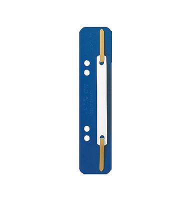 Heftstreifen 3710 kurz PP blau 35x138mm