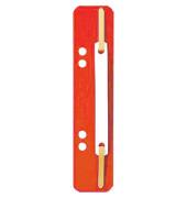 Heftstreifen 3710 kurz PP rot 35x138mm