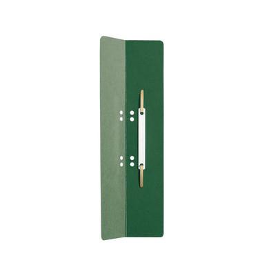 Heftstreifen lang 3720-00-55, 60x305mm, extra lang, RC-Karton mit Kunststoffdeckleiste, grün, 25 Stück