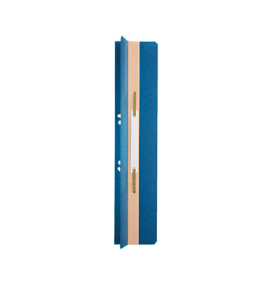 Heftstreifen lang 3726-00-35, 60x305mm, extra lang, geöst, RC-Karton mit Kunststoffdeckleiste, blau, 1 Stück