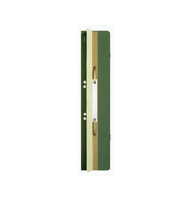 Einhängeheftrücken m.Heftfalz grün 60x305mm geöst