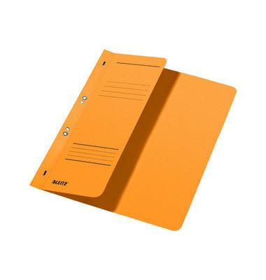 Ösenhefter A4 250g Karton gelb halber Vorderdeckel kaufmännische Heftung