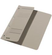 Ösenhefter A4 250g Karton grau halber Vorderdeckel kaufmännische Heftung