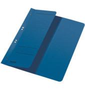 Ösenhefter A4 250g Karton blau halber Vorderdeckel Amtsheftung