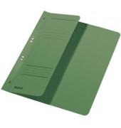 Ösenhefter A4 250g Karton grün halber Vorderdeckel Amtsheftung