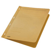 Ösenhefter A4 250g Karton chamois ganzer Vorderdeckel kaufmännische Heftung / Amtsheftung