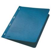 Ösenhefter A4 250g Karton blau ganzer Vorderdeckel kaufmännische Heftung / Amtsheftung