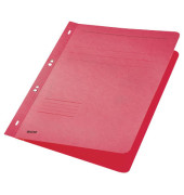 Ösenhefter A4 250g Karton rot ganzer Vorderdeckel kaufmännische Heftung / Amtsheftung