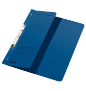 Schlitzhefter Karton halber VD blau A4 250g kfm.Hef.