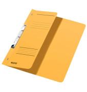 Schlitzhefter Karton halber VD gelb A4 250g kfm.Hef.