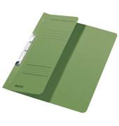 Schlitzhefter Karton halber VD grün A4 250g kfm.Hef.