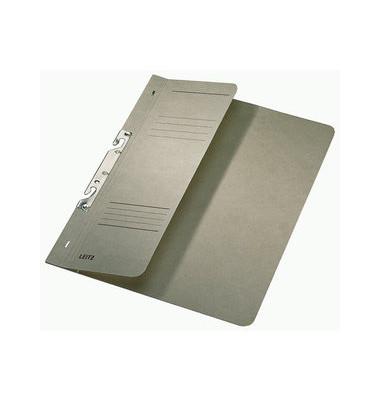 Schlitzhefter Karton halber VD grau A4 250g kfm.Hef.