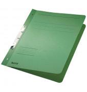 Schlitzhefter Karton voller VD grün A4 250g kfm.Hef.